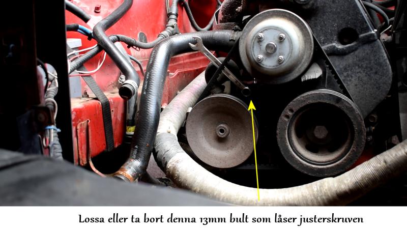 volvosweden.se/images/Volvo_guider_manualer/Guider/Hur_man_byter_kamrem_och_sp%C3%A4nnrulle_Volvo_240_940_740_motor_B230/6%20Lossa%20l%C3%A5sbulten%20till%20styrservopumpens%20justerings%20skruv.png
